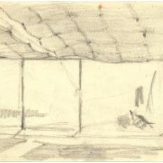 Boceto para La pesca del atún, Ayamonte