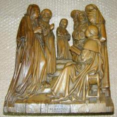 Jesús niño entre los Doctores