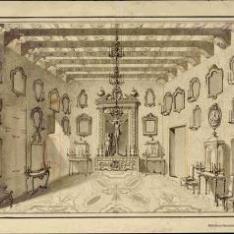 Sala de la capilla del Ayuntamiento de Valencia