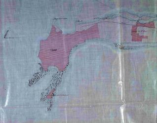 Plano de la Bahia de Cádiz