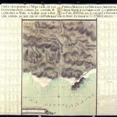 Carta geographica o Mapa Gerl. de la Provincia de Marina de Almería