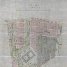 Plano de la Prolongación del Barrio de Argüelles