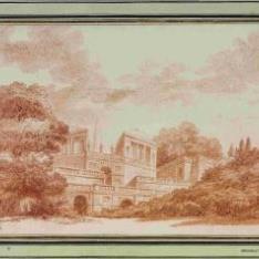 Villa en el jardín Farnesio de Roma