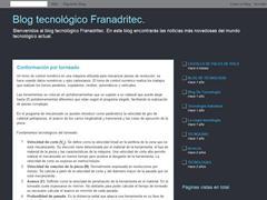 Blog tecnológico Franadritec.