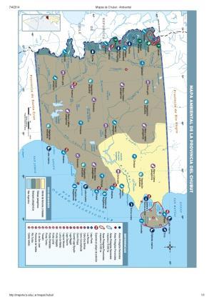 Mapa ambiental del Chubut. Mapoteca de Educ.ar
