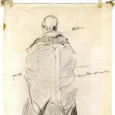 Novia de espaldas, Ansó