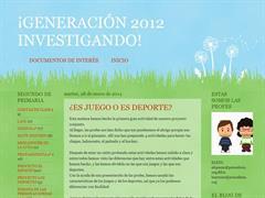 Generación 2012 investigando