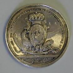 Medalla de proclamación del rey Carlos IV en México