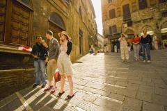 Siena, entre el bien y el mal