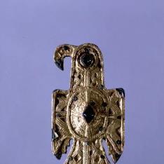 Fíbula aquiliforme visigoda