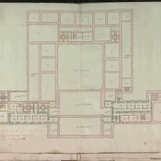 PLANTA DELOS ENTRESUELOS DE LA CASA REAL DE ARANJUEZ, 1636