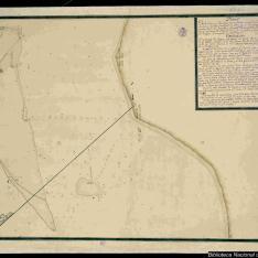 Plano de la Costa y Arrecifes que se hallan en la inmediación de la punta de Antón Lizardo