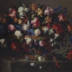 Canastilla de flores