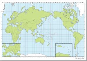 Mapa de países del Mundo. Freemap