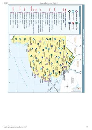 Mapa cultural de Buenos Aires. Mapoteca de Educ.ar