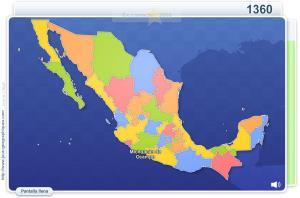 Estados de México. Juegos Geográficos