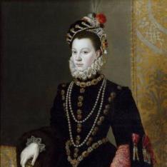 La reina Isabel de Valois, tercera esposa de Felipe II
