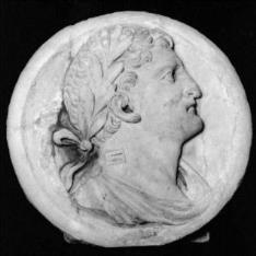 Cabeza de un emperador romano