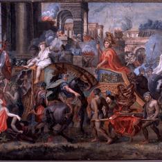 Entrada triunfal de Alejandro en Babilonia