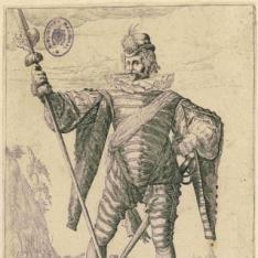 Oficiales y soldados del Cuerpo de Guardia del Emperador Rodolfo II