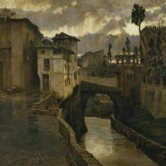Chubasco en Granada, o Recuerdos de Granada