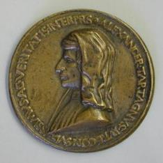 Medalla de Alessandro Tartagni