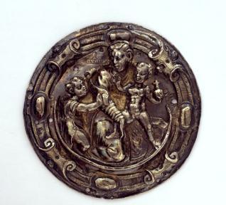 Medalla de cruz procesional