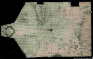 Plano y descripción de la costa y golfo de honduras