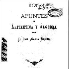 Apuntes de aritmética y álgebra