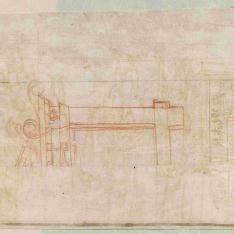 Estudios para la Capilla Massimi de Santa Trinità dei Monti, Roma