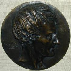 Medallón con el retrato de Lazare Nicolas Marguerite Carnot