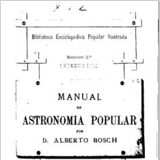 Manual de Astronomía popular