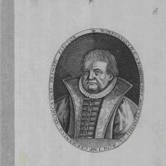 Retrato de Wolfgang, Arzobispo de Mainz