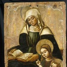Santa Ana con la Virgen y el Niño