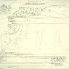 Detalles del sepulcro del príncipe don Juan en Santo Tomás de Ávila (?)