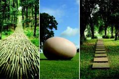 Paseos entre esculturas que respiran