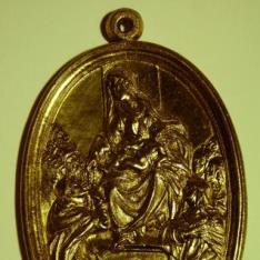 La Virgen entrega el rosario a Santo Domingo de Gúzman