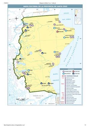 Mapa cultural de Santa Cruz. Mapoteca de Educ.ar