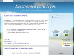 Electrónica para legos.