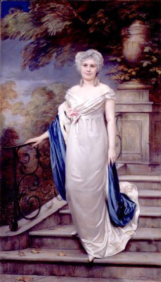 Retrato de Paula Florido
