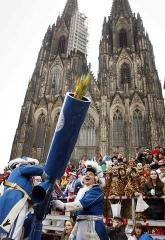 El carnaval futbolero de Colonia