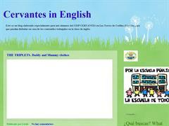 CERVANTES IN ENGLISH