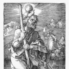 San Cristobal mirando hacia la derecha
