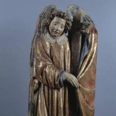 Ángel con instrumentos de la Pasión