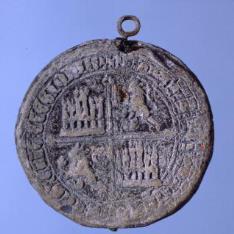 Sello de Juan I, rey de Castilla y León