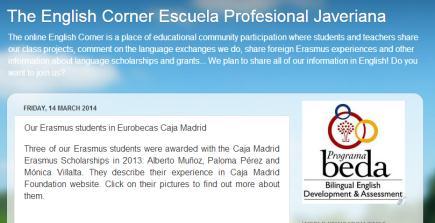 The English Corner Escuela Profesional Javeriana