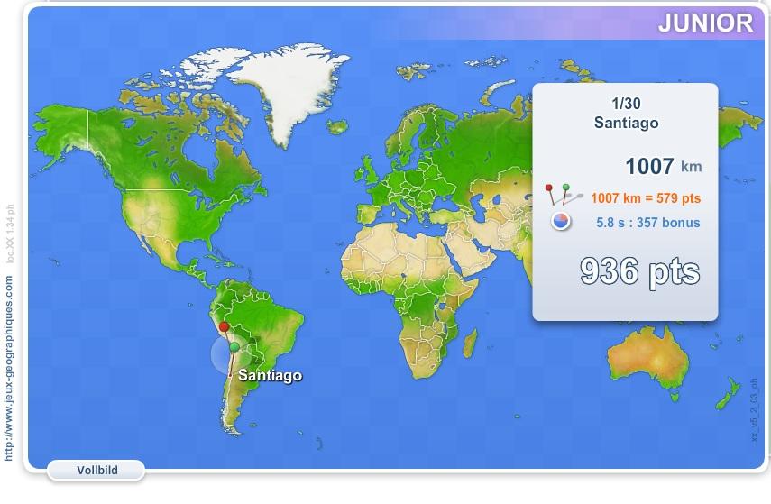 Städte der Welt junior. Geographie Spiele