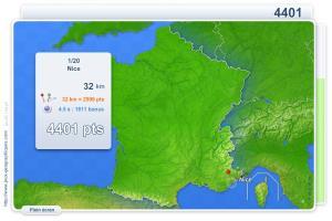 Villes de France. Jeux géographiques