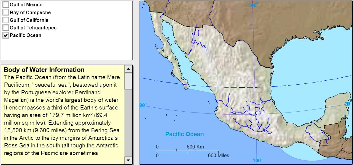 Oceans of Mexico. Tutorial. Sheppard Software