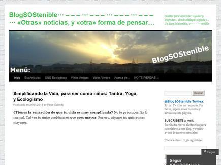 BlogSOStenible